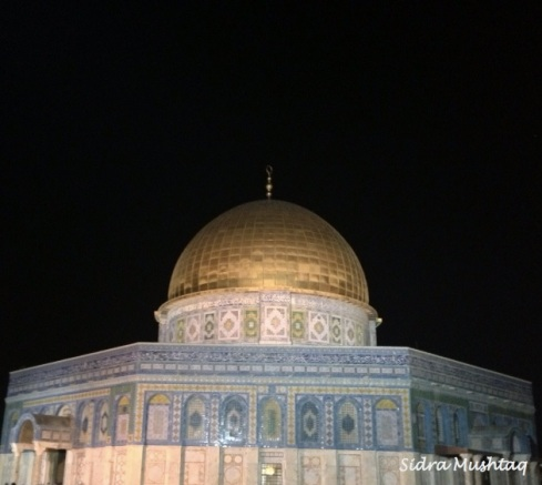 The Dome of the Rock Masjid