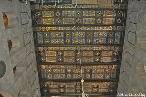 Ceiling. Masjid al-Aqsa