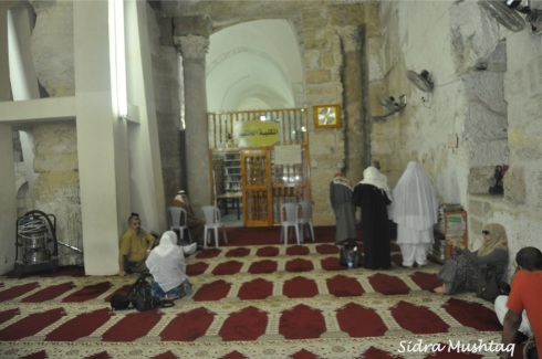 Original part of Masjid al-Aqsa.