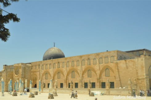 Masjid al-Aqsa in its full glory.
