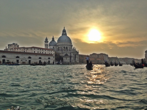 Sunset in Venice during my recent trip.  Photo taken on the iPhone.